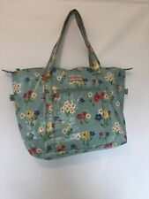 Cath Kidston Oilcloth Floral Large Shopper Tote Bag/Weekend Bag