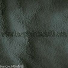 CHARCOAL SOFT ARTIFICIAL LEATHER FABRIC for UPHOLSTERY SEAT STOOL BOOK SHOES BTY