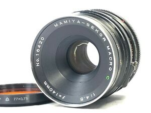 [READ Exc+3] Mamiya Sekor C 140mm f/4.5 Macro MF Lens for RB67 S SD from JAPAN