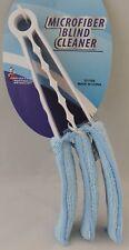 Two (2) Microfiber Venetian Mini Blind Blade Cleaner Window Duster Vertical