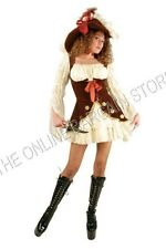 Charades LACEY Pirate Halloween Party Costume Women Lady Adult In character