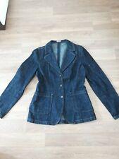Miu Miu denim jacket size 46 or 12-14 stunning genuine jacket Prada house