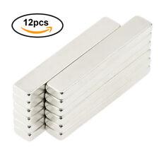 12x Strong Rare Earth N42 NdFeB Neodymium Block Thin Magnet Bar 60x10x4mm AU