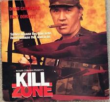 Kill Zone Laserdisc