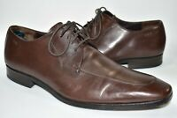 Hugo Boss Leather Dress Shoes Oxfords Lace Up Dark Brown Formal Mens Size 12