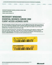 Microsoft Windows Essential Business Server 2008 25 User Device CAL No media