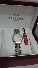 JEAN PERRET *GENEVE* Watch Swiss Made for men or ladies (case size 33mm)  NEW 05