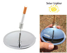Solar Cigarettes Lighter Windproof Solar Energy Camping Lighters Make A Fire