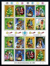 [72750] Paraguay 1980 Christmas Full Sheet MNH