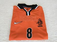 1998 Holland Netherlands Bergkamp retro football soccer shirt