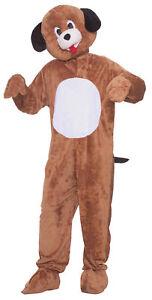 Mr. Puppy Plush Mascot Adult Costume Doggie Dog Animal Funny Party Halloween
