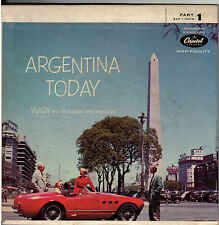 """VLADY & HIS ORCH! - """"ARGENTINA TODAY"""" PARTS ONE, TWO AND THREE CAP-10019 EP SET!"""