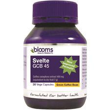 BLOOMS SVELTE GCB 45 PERCENT 30 VEGE CAPSULES GREEN COFFEE BEAN HEALTHY DIET