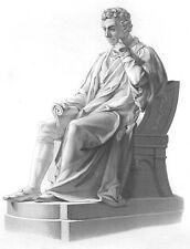 SMALLPOX VACCINE DOCTOR EDWARD JENNER KENSINGTON GARDEN 1859 Art Print Engraving