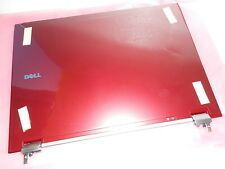 BRAND NEW OEM Dell Latitude E6500 RED LCD Back Cover & Hinges P/N R282G W891N