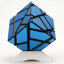 Ninja Ghost 3x3x3 Magic Cube Skewb Twist Puzzle Intelligence Toys Brushed Blue