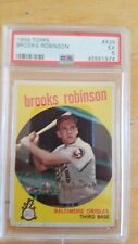 Brooks Robinson  1959 Topps #439 Baltimore Orioles. PSA 5. Awesome card.