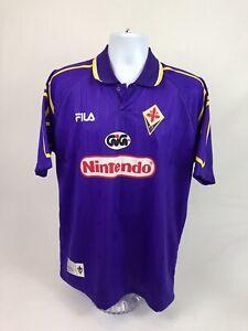 NEW! VTG 90's Fila MLS Florentina A.C. Soccer Jersey Size Medium W/Tags *Read*