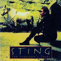 STING - TEN SUMMONER'S TALES / CD - TOP-ZUSTAND