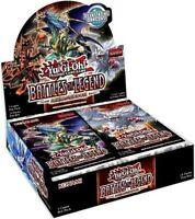 Yugioh Unopened English Booster Box Battles of Legend Armageddon 1st  NEW Shield