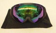Native Eyewear Upslope Medium Fit Ski/Snowboard Goggles United Green Lens NEW
