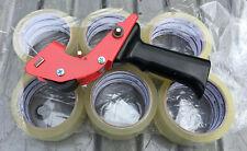 Packing Shipping Mousetrap Tape Dispenser Gun Amp 6 Rolls Box Sealing Tape