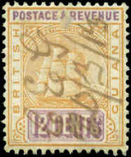 British Guiana Scott #177 Used Revenue Cancel