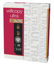 Willcopy Ultra Office Paper, 8-1/2 x 14 Inches, White, 500 Sheets