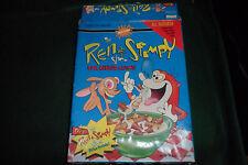 Nicktoons Ren & Stimpy Show Log Cereal Game 1992 Parker Brothers No.40117
