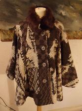 Faux Fur Cape Vintage Coats & Jackets for Women