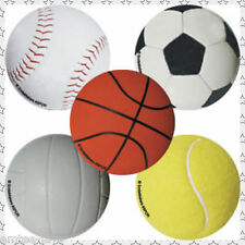 SPORTS BALLS Stickers x 5 -Teachers Stickers Party Supplies, Reward, Favours, PE