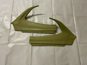 1970-1972 Plymouth Duster Side Panels Back Seat Coupe Upper Rear Metal Door Trim
