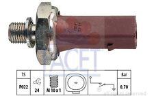 FACET Interruptor de control la presión aceite VOLKSWAGEN GOLF BMW SEAT 7.0132