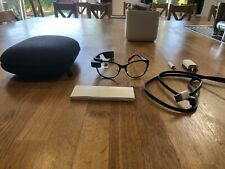 Google Glass Explorer Edition With Full Glasses Lens, Original Charger And Case