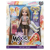 Moxie Girlz Summer Swim Magic Avery Doll with extra accessories