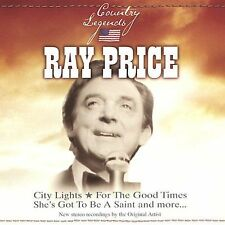 RAY PRICE COUNTRY LEGENDS:City Lights,Make the World Go Away,Crazy Arms