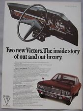 1969 Vauxhall Victor Original advert No.1