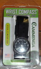 CAMMENGA WRIST COMPASS ARMY US MILITARY J582 CAMPING HUNTING HIKING USA NEW