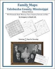 Family Maps Yalobusha County Mississippi Genealogy Plat