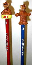 2 ALF FIGURAL PENCILS BY RUSS BRAND NEW/UNUSED