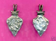 12 wholesale lead free pewter arrowhead pendants 5002