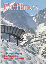 Ford Times January 1986 Annapolis Brass Quintet Mammoth Lodge Mini- Choppers New