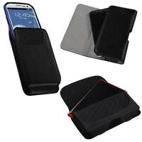 Universal Premium Leather Belt Clip Case Pouch Belt Clip For Mobile Cell Phone