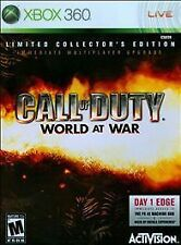 Call of Duty: World at War Limited Collector's Edition Xbox 360 COD Sealed