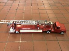 Late 50's Structo Fire Truck Hook and ladder