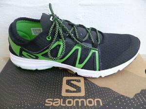 Salomon Crossamphibian Swift Trainers Sneakers Trainers Black/Green New