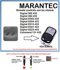 Marantec MANDO 131 433 Control Remoto Universal Duplicador 433.92MHz.