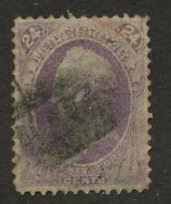 USA 1870 Scott 24c purple #153 used