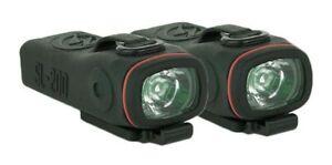 Shredlights SL-200 2-Pack - Back With Soportes - Luces Para Skate Longboar