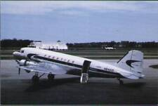 (vut) Airplane Postcard: Frontier, DC3